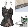 Structural Seam for Lingerie
