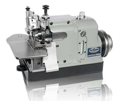 Merrow 40D40B40 Industrial Sewing Machine For Joining Knit Fabric Beauteous Sewing Machine For Knit Fabric